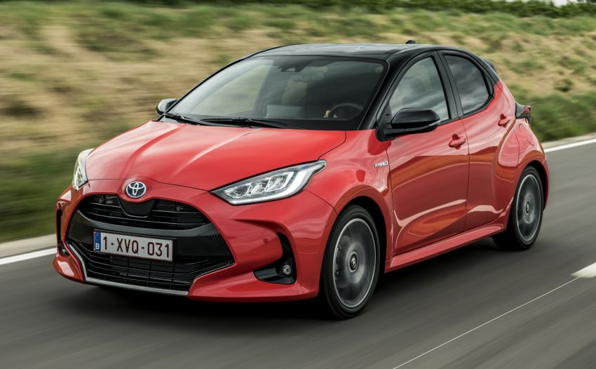 2020 Toyota Yaris detailed for Europe – 125 PS petrol and 116 PS hybrid with 1.5 litre NA three-cylinder Image #1153333