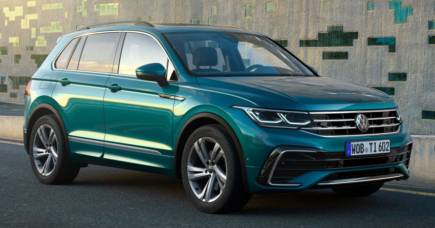 2020 Volkswagen Tiguan facelift debuts – updated styling and equipment; new PHEV, 320 PS R variants Image #1139019