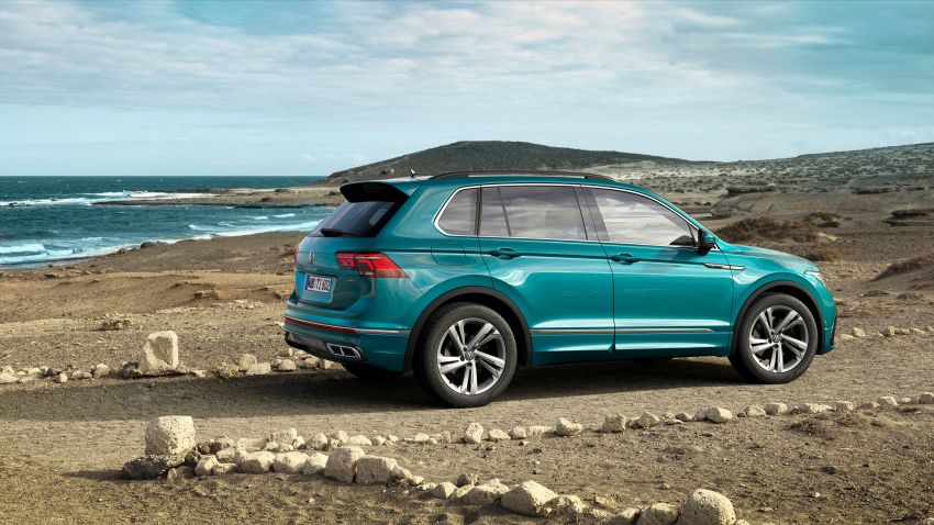 2020 Volkswagen Tiguan facelift debuts – updated styling and equipment; new PHEV, 320 PS R variants Image #1139033
