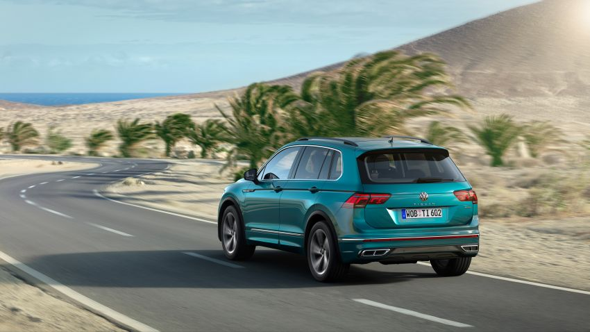2020 Volkswagen Tiguan facelift debuts – updated styling and equipment; new PHEV, 320 PS R variants Image #1139034