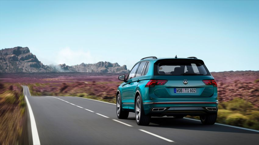 2020 Volkswagen Tiguan facelift debuts – updated styling and equipment; new PHEV, 320 PS R variants Image #1139037