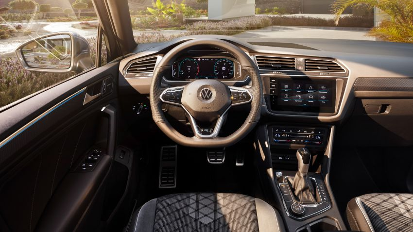2020 Volkswagen Tiguan facelift debuts – updated styling and equipment; new PHEV, 320 PS R variants Image #1139038