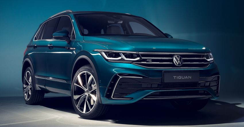 2020 Volkswagen Tiguan facelift debuts – updated styling and equipment; new PHEV, 320 PS R variants Image #1139046
