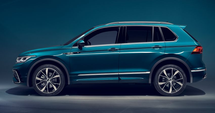 2020 Volkswagen Tiguan facelift debuts – updated styling and equipment; new PHEV, 320 PS R variants Image #1139047