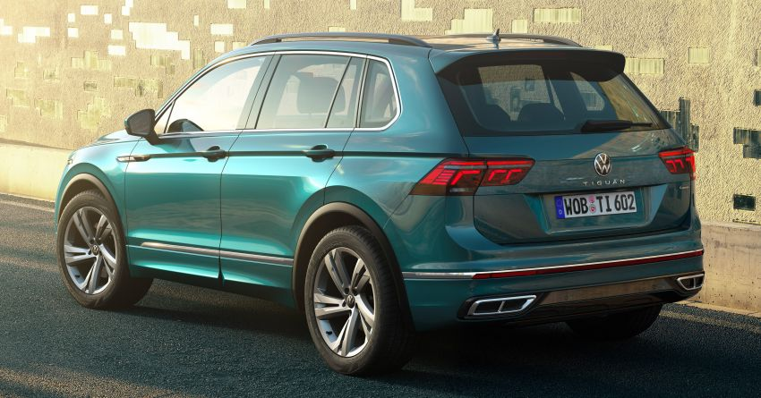2020 Volkswagen Tiguan facelift debuts – updated styling and equipment; new PHEV, 320 PS R variants Image #1139021