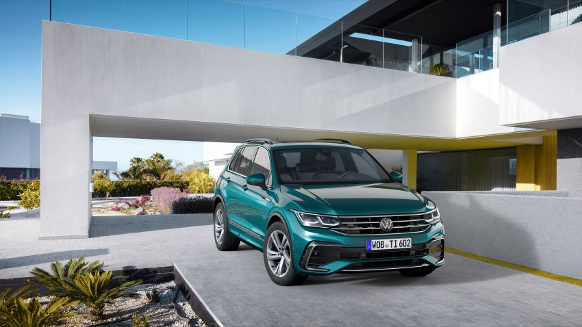 2020 Volkswagen Tiguan facelift debuts – updated styling and equipment; new PHEV, 320 PS R variants Image #1139022