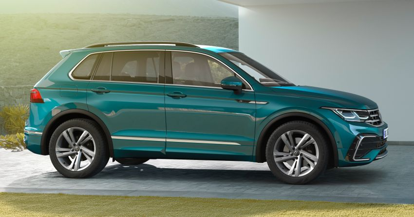 2020 Volkswagen Tiguan facelift debuts – updated styling and equipment; new PHEV, 320 PS R variants Image #1139024
