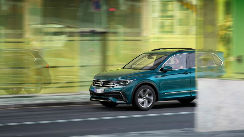2020 Volkswagen Tiguan facelift debuts – updated styling and equipment; new PHEV, 320 PS R variants Image #1139027