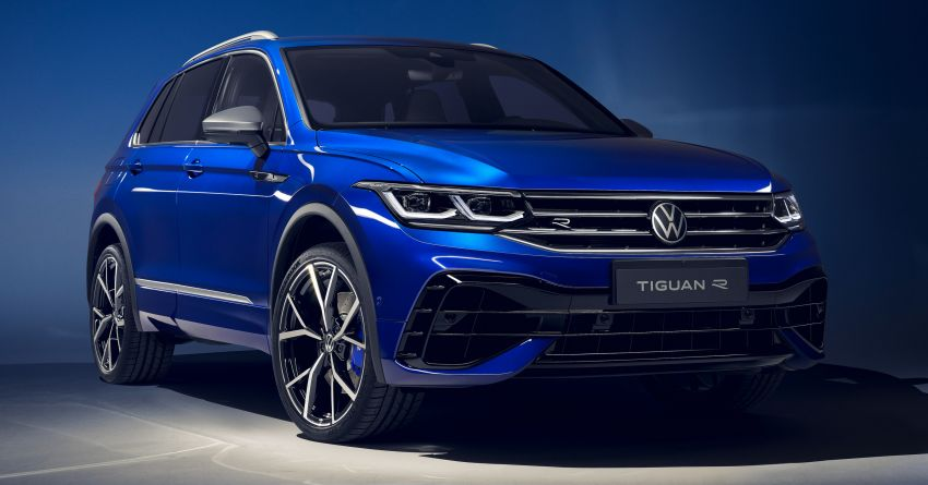 2020 Volkswagen Tiguan facelift debuts – updated styling and equipment; new PHEV, 320 PS R variants Image #1139411