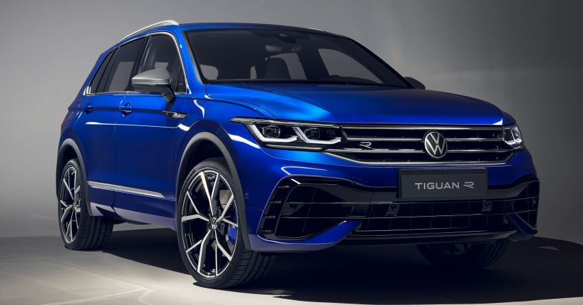 2020 Volkswagen Tiguan facelift debuts – updated styling and equipment; new PHEV, 320 PS R variants Image #1139420