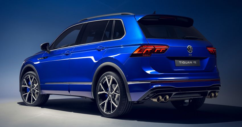 2020 Volkswagen Tiguan facelift debuts – updated styling and equipment; new PHEV, 320 PS R variants Image #1139412