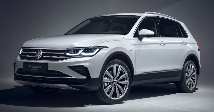 2020 Volkswagen Tiguan facelift debuts – updated styling and equipment; new PHEV, 320 PS R variants Image #1139405
