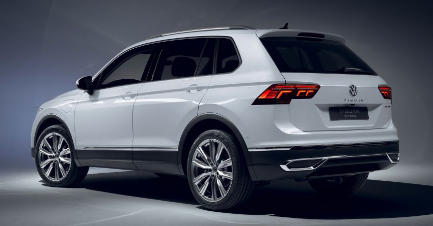 2020 Volkswagen Tiguan facelift debuts – updated styling and equipment; new PHEV, 320 PS R variants Image #1139406