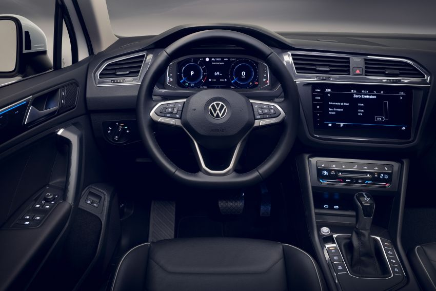 2020 Volkswagen Tiguan facelift debuts – updated styling and equipment; new PHEV, 320 PS R variants Image #1139409