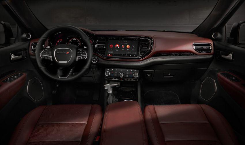 Dodge Durango SRT Hellcat – SUV paling berkuasa di dunia dengan enjin HEMI V8 6.2 liter berkuasa 710 hp Image #1140576