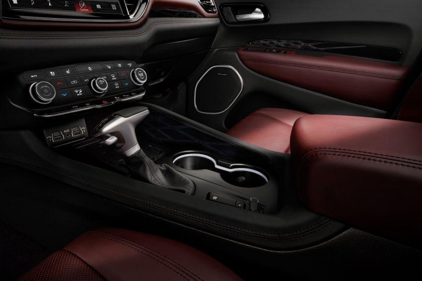 Dodge Durango SRT Hellcat – SUV paling berkuasa di dunia dengan enjin HEMI V8 6.2 liter berkuasa 710 hp Image #1140563