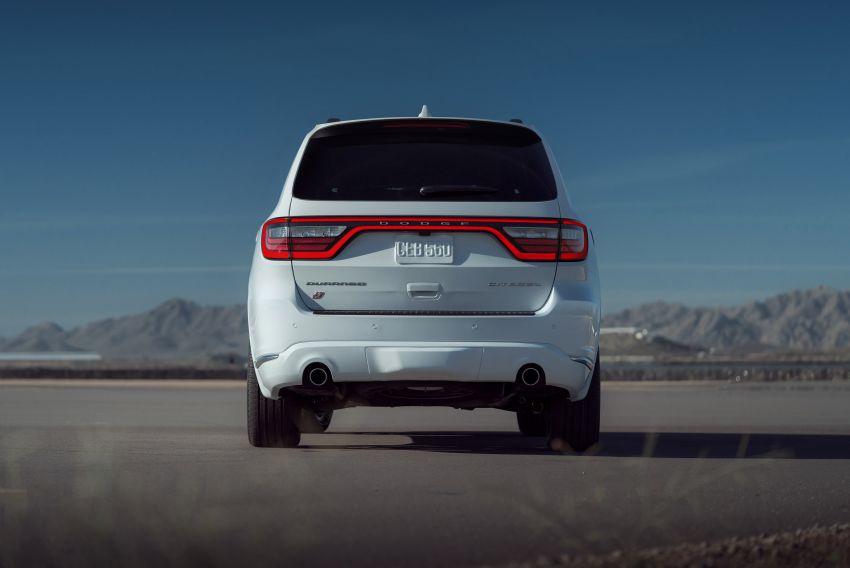 Dodge Durango SRT Hellcat – SUV paling berkuasa di dunia dengan enjin HEMI V8 6.2 liter berkuasa 710 hp Image #1140580