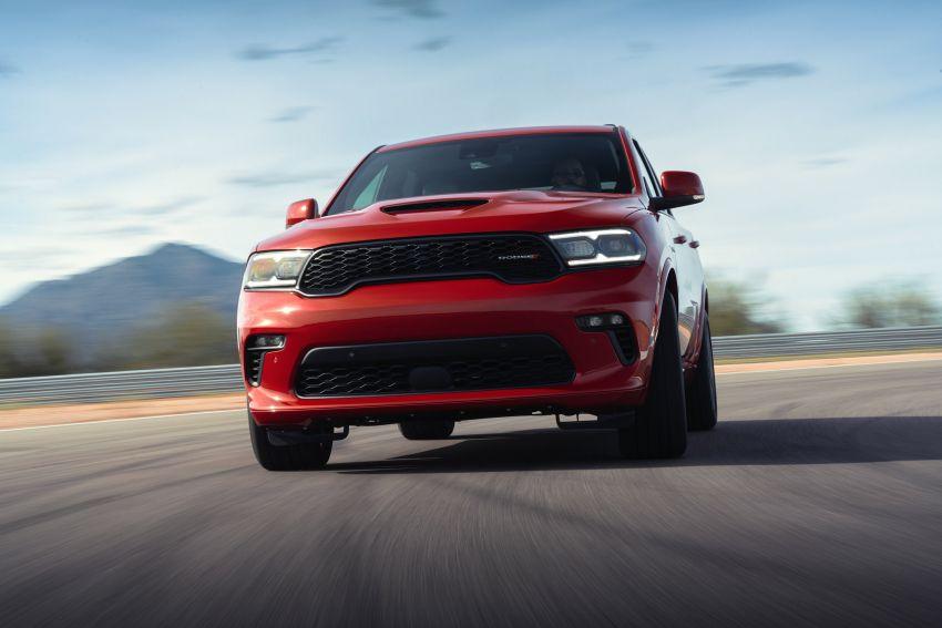 Dodge Durango SRT Hellcat – SUV paling berkuasa di dunia dengan enjin HEMI V8 6.2 liter berkuasa 710 hp Image #1140600