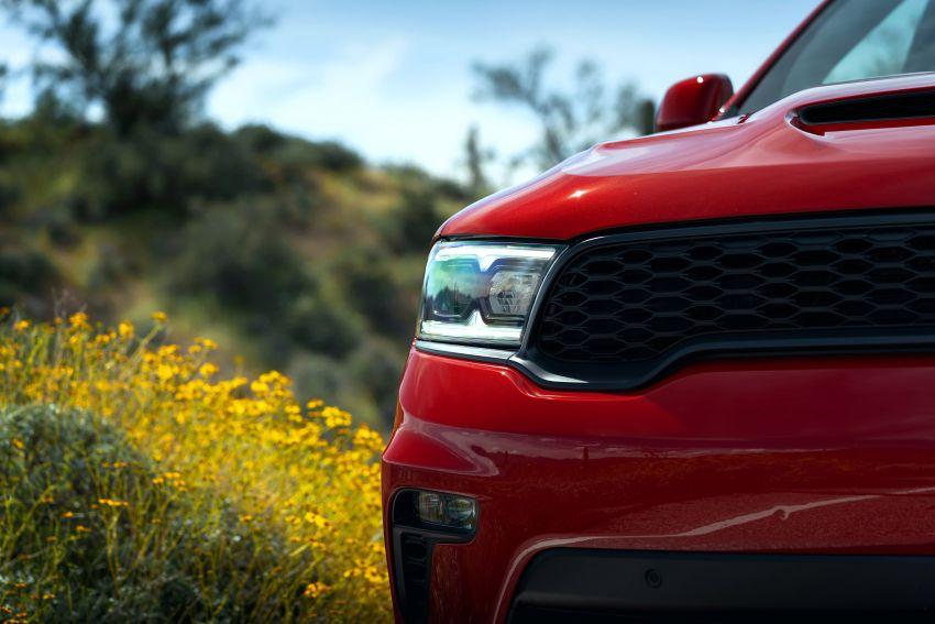 Dodge Durango SRT Hellcat – SUV paling berkuasa di dunia dengan enjin HEMI V8 6.2 liter berkuasa 710 hp Image #1140588