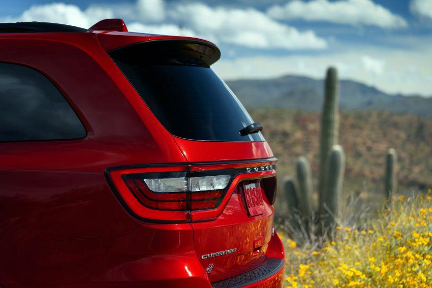 Dodge Durango SRT Hellcat – SUV paling berkuasa di dunia dengan enjin HEMI V8 6.2 liter berkuasa 710 hp Image #1140589