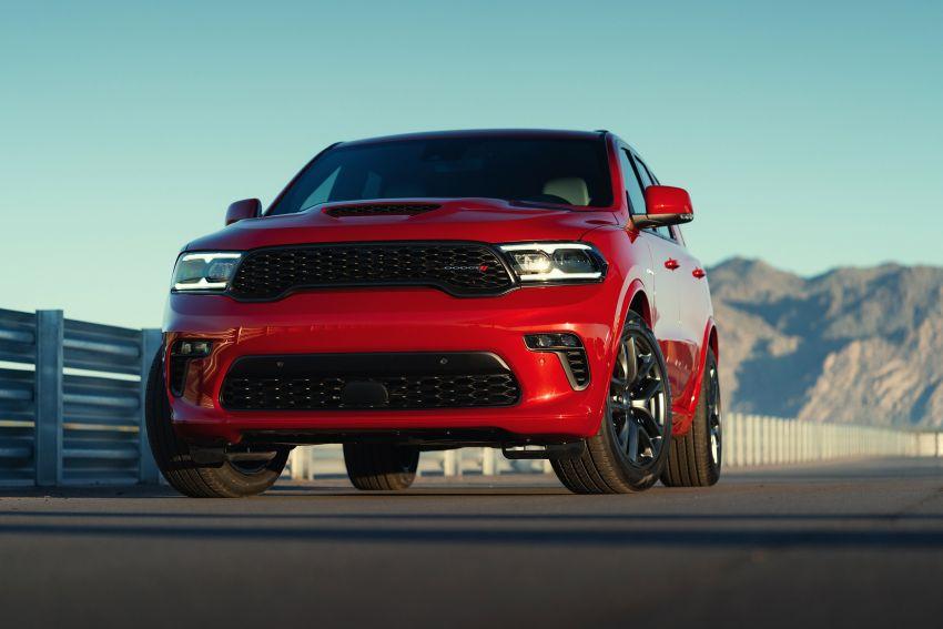 Dodge Durango SRT Hellcat – SUV paling berkuasa di dunia dengan enjin HEMI V8 6.2 liter berkuasa 710 hp Image #1140621