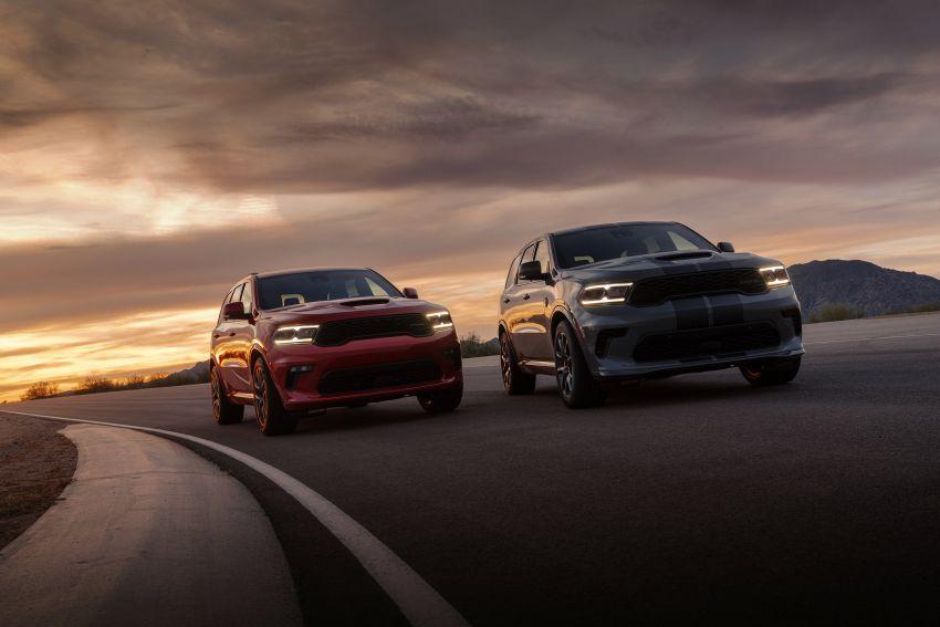 Dodge Durango SRT Hellcat – SUV paling berkuasa di dunia dengan enjin HEMI V8 6.2 liter berkuasa 710 hp Image #1140614