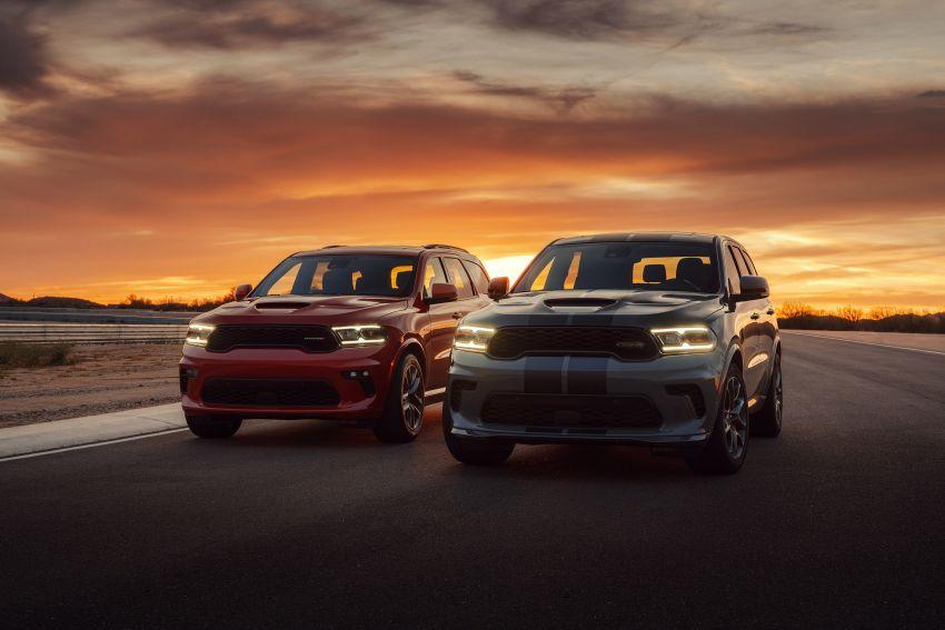 Dodge Durango SRT Hellcat – SUV paling berkuasa di dunia dengan enjin HEMI V8 6.2 liter berkuasa 710 hp Image #1140615
