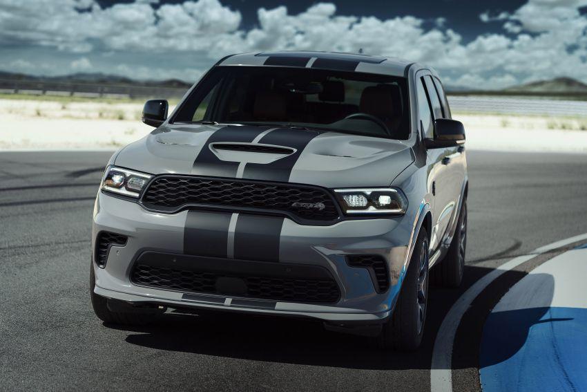 Dodge Durango SRT Hellcat – SUV paling berkuasa di dunia dengan enjin HEMI V8 6.2 liter berkuasa 710 hp Image #1140692