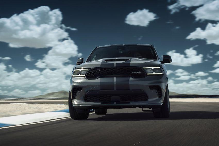 Dodge Durango SRT Hellcat – SUV paling berkuasa di dunia dengan enjin HEMI V8 6.2 liter berkuasa 710 hp Image #1140672