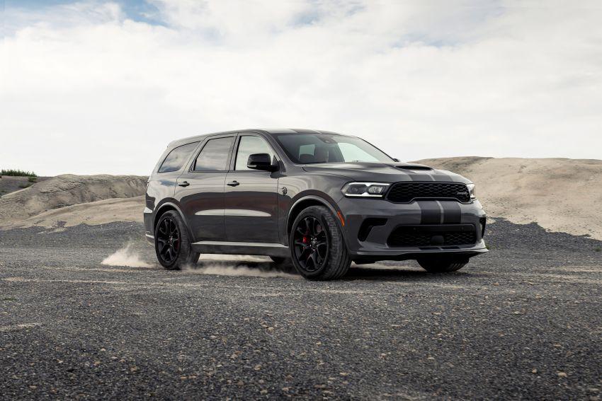 Dodge Durango SRT Hellcat – SUV paling berkuasa di dunia dengan enjin HEMI V8 6.2 liter berkuasa 710 hp Image #1140662
