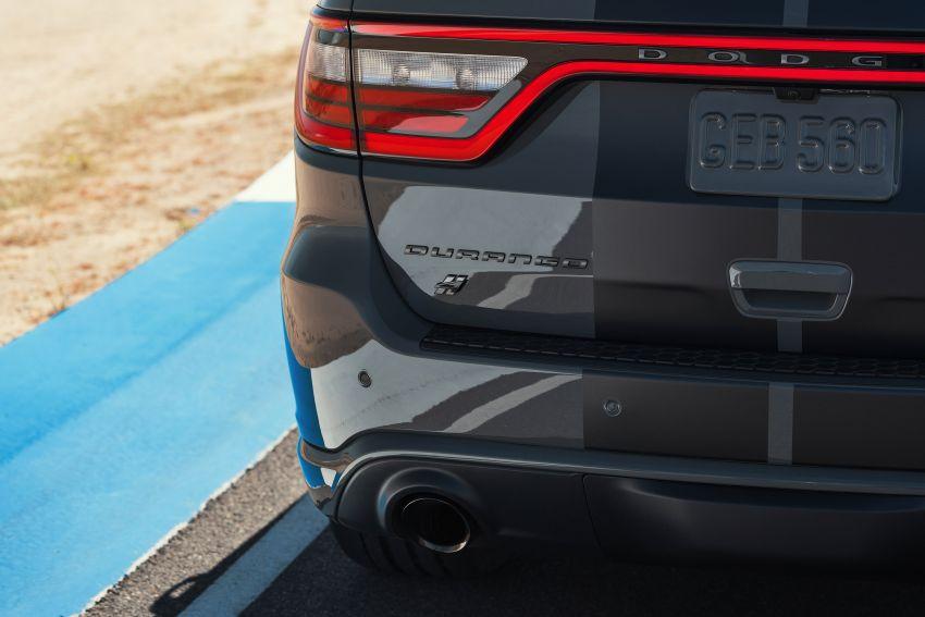 Dodge Durango SRT Hellcat – SUV paling berkuasa di dunia dengan enjin HEMI V8 6.2 liter berkuasa 710 hp Image #1140656