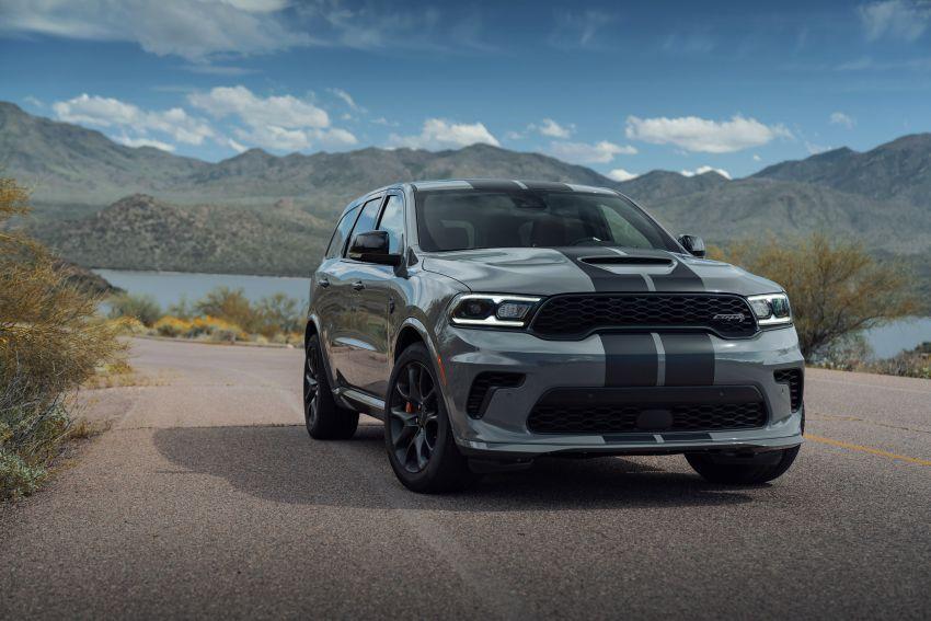 Dodge Durango SRT Hellcat – SUV paling berkuasa di dunia dengan enjin HEMI V8 6.2 liter berkuasa 710 hp Image #1140695