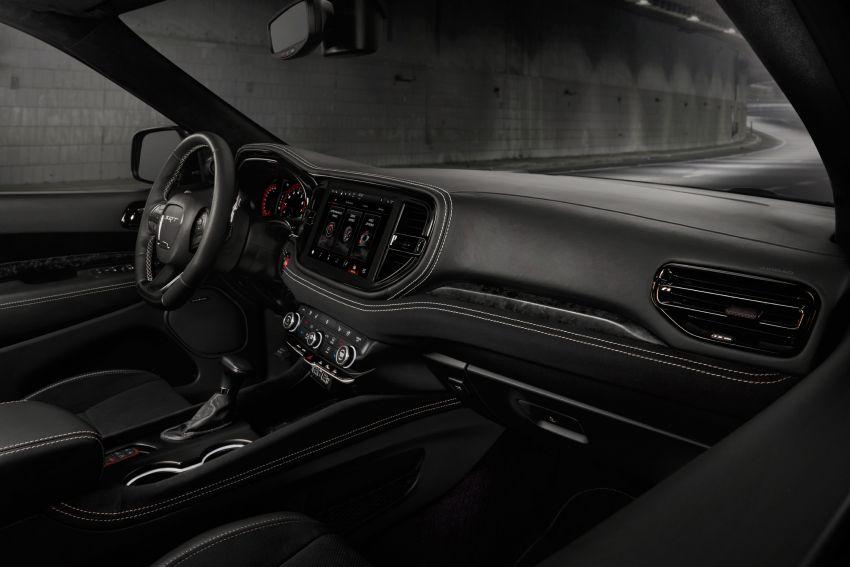 Dodge Durango SRT Hellcat – SUV paling berkuasa di dunia dengan enjin HEMI V8 6.2 liter berkuasa 710 hp Image #1140642