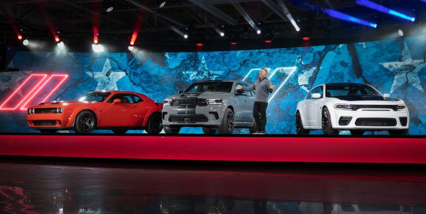 Dodge Durango SRT Hellcat – SUV paling berkuasa di dunia dengan enjin HEMI V8 6.2 liter berkuasa 710 hp Image #1140629
