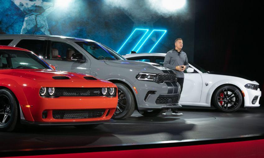 Dodge Durango SRT Hellcat – SUV paling berkuasa di dunia dengan enjin HEMI V8 6.2 liter berkuasa 710 hp Image #1140630
