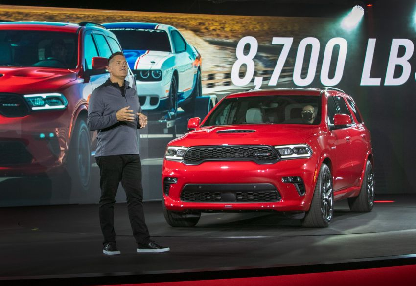 Dodge Durango SRT Hellcat – SUV paling berkuasa di dunia dengan enjin HEMI V8 6.2 liter berkuasa 710 hp Image #1140633