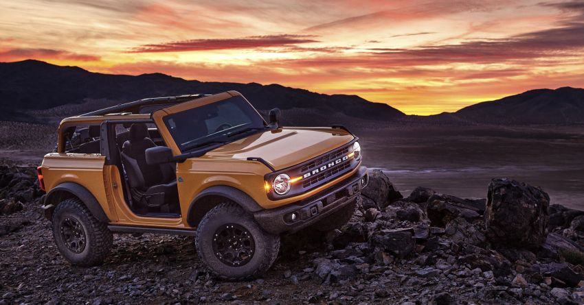 Sixth-generation Ford Bronco debuts – two EcoBoost petrols, removable panels and washable interior Image #1145082