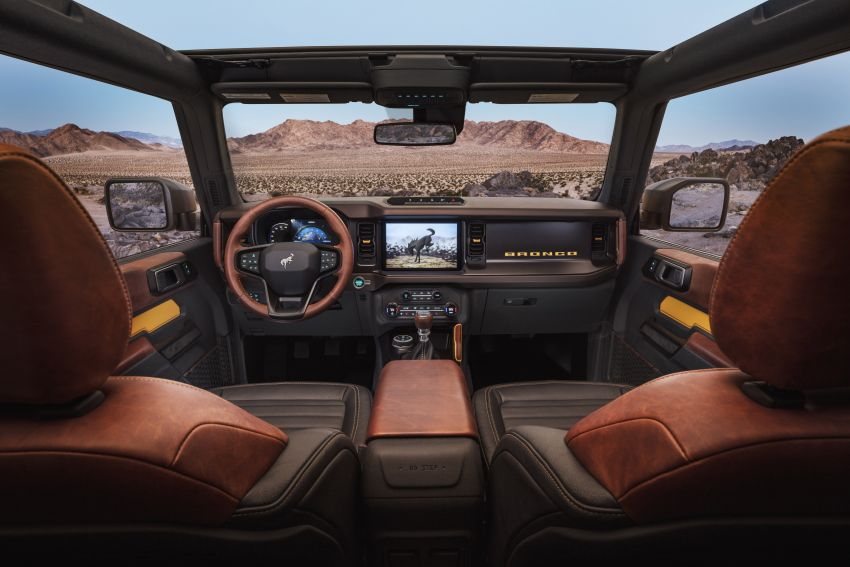 Sixth-generation Ford Bronco debuts – two EcoBoost petrols, removable panels and washable interior Image #1145093