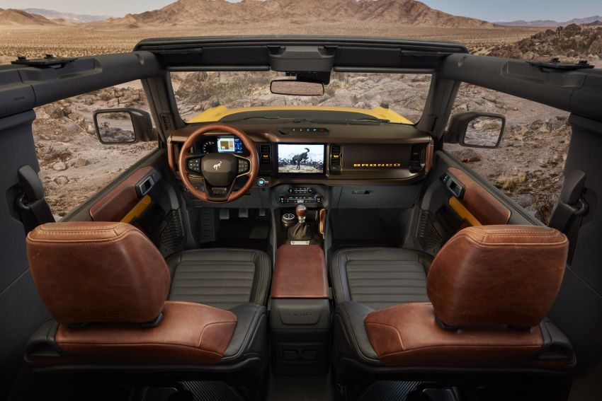 Sixth-generation Ford Bronco debuts – two EcoBoost petrols, removable panels and washable interior Image #1145091