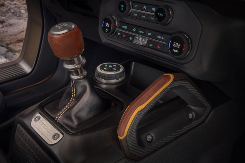 Sixth-generation Ford Bronco debuts – two EcoBoost petrols, removable panels and washable interior Image #1145087