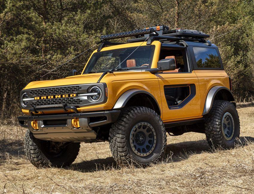 Ford Bronco 2021 didedahkan – pintu, bumbung dan panel badan boleh ditanggal, 2 pilihan enjin EcoBoost Image #1145652