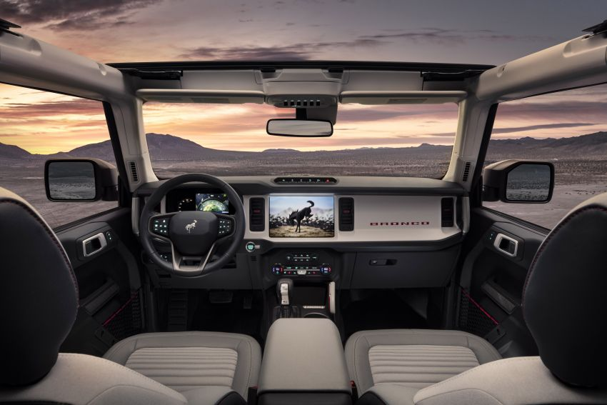 Sixth-generation Ford Bronco debuts – two EcoBoost petrols, removable panels and washable interior Image #1145086