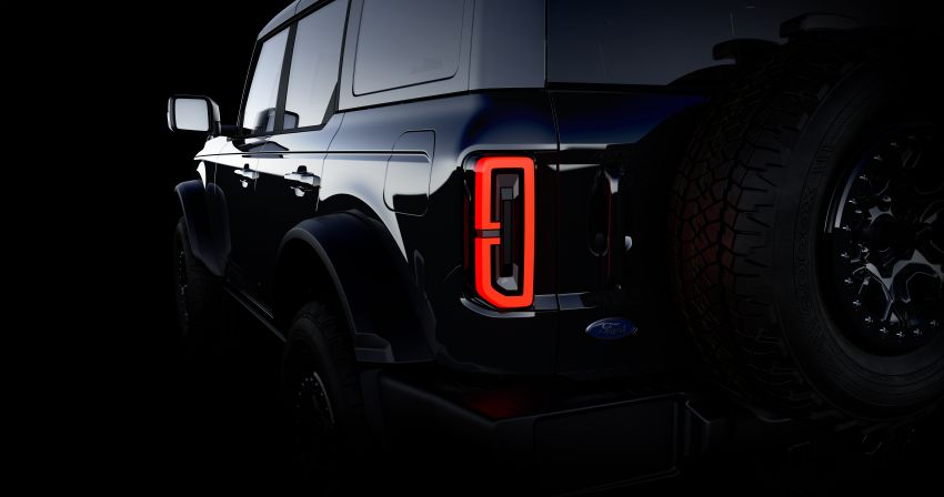 Sixth-generation Ford Bronco debuts – two EcoBoost petrols, removable panels and washable interior Image #1145137