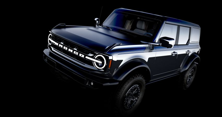 Sixth-generation Ford Bronco debuts – two EcoBoost petrols, removable panels and washable interior Image #1145133