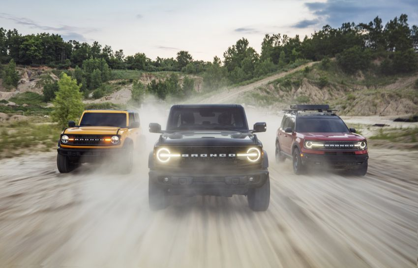 Sixth-generation Ford Bronco debuts – two EcoBoost petrols, removable panels and washable interior Image #1145043
