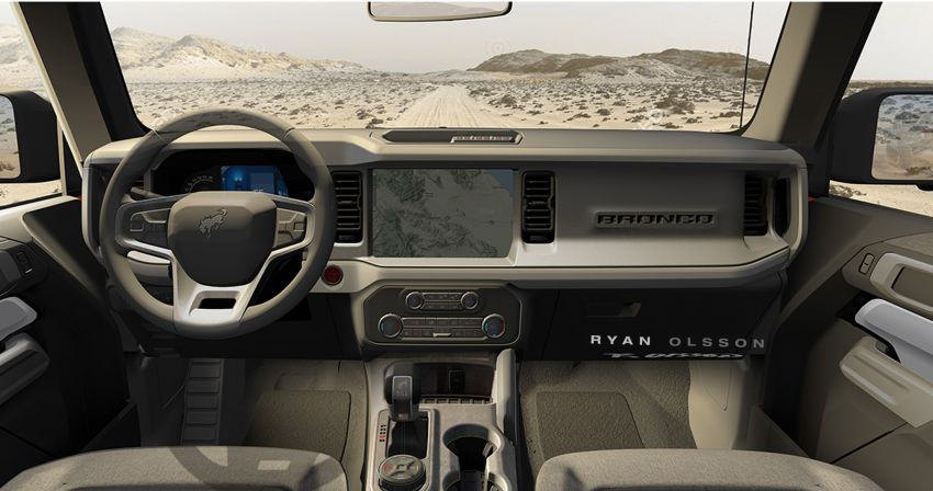 Sixth-generation Ford Bronco debuts – two EcoBoost petrols, removable panels and washable interior Image #1145134