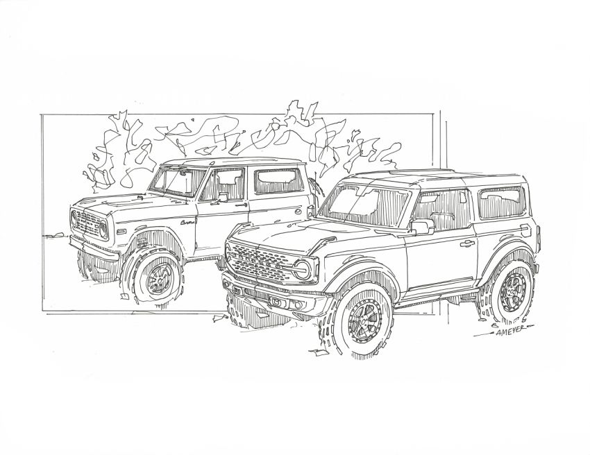 Sixth-generation Ford Bronco debuts – two EcoBoost petrols, removable panels and washable interior Image #1145126