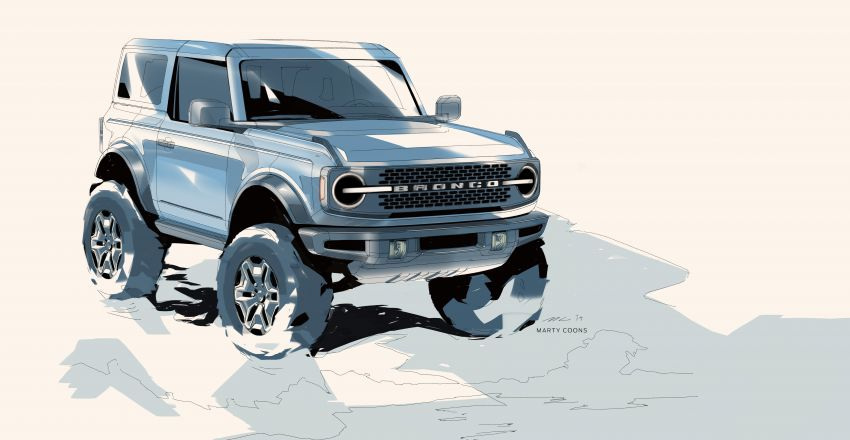 Sixth-generation Ford Bronco debuts – two EcoBoost petrols, removable panels and washable interior Image #1145113