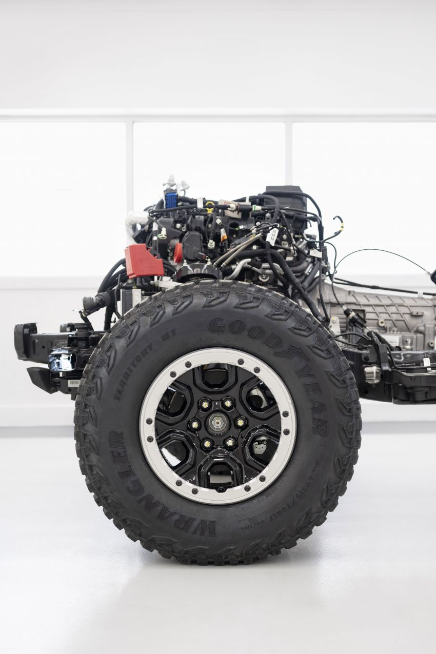 Sixth-generation Ford Bronco debuts – two EcoBoost petrols, removable panels and washable interior Image #1145165