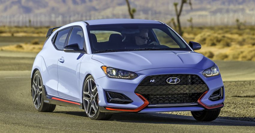 2021 Hyundai Veloster N to enter US market in October with eight-speed DCT, Performance Package Image #1154027